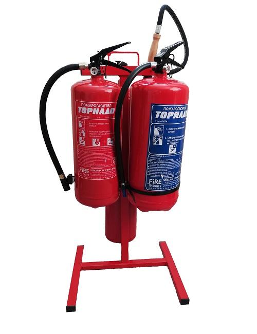 Тройна-стойка-за-пожарогасители-Пожарна-защита