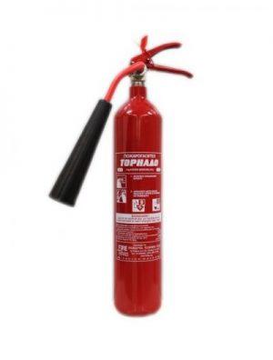 Пожарогасител Въглероден диоксид СО2 - 2 кг.