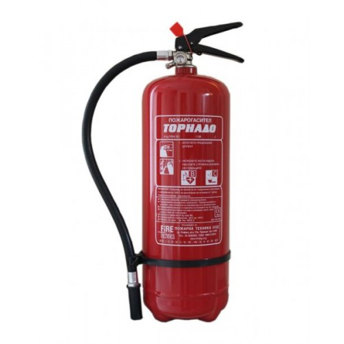 Прахов пожарогасител 6 кг. ABC