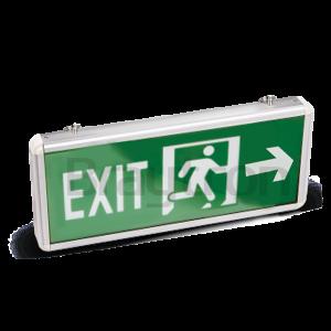 Евакуационно LED осветително тяло EXIT, 3W, 220VAC, ляво - дясно